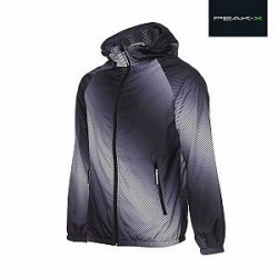 Peak-X Outdoor-jakke i gråtonet design