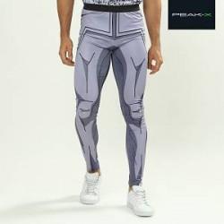 Peak-X Sports-tights i tegneseriedesign