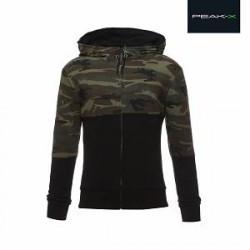 Peak-X Sportsjakke med camouflagedetaljer