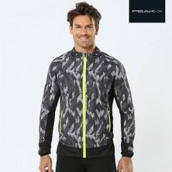 Peak-X Sportsjakke med neonlynlås