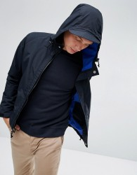 Penfield Becket Hooded Jacket Technical Waterproof in Black - Black