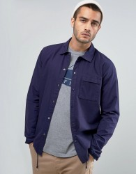 Penfield Blackstone Ripstop Over Shirt Regular Fit in Navy - Navy