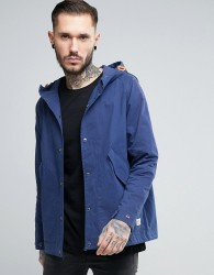 Penfield Davenport Hooded Jacket Showerproof in Navy - Navy