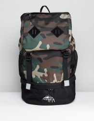 Penfield Dixon Trail Backpack Cordura In Camo - Green