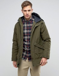Penfield Kingman Insulated Parka Jacket Hooded in Green - Green
