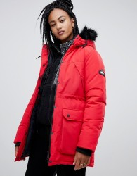 Penfield Kirby parka coat - Red
