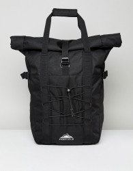 Penfield Mistral Tote Backpack Cordura in Fire Black - Black