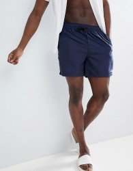 Penfield Seal Swim Shorts Small Logo in Navy - Navy