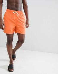 Penfield Seal Swim Shorts Small Logo in Orange - Orange
