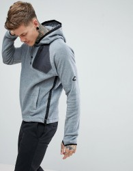 Penfield Skyline Polar Fleece Hoodie in Grey - Grey