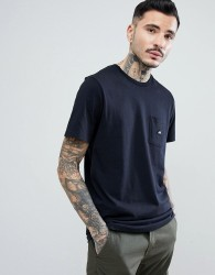 Penfield Southborough Logo Pocket T-Shirt in Black - Black