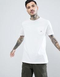 Penfield Southborough Logo Pocket T-Shirt in White - White