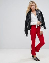 Pepe Jeans Basi Red Tailored Trousers - Red