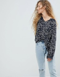 Pepe Jeans Ditsy Floral Blouse - Blue