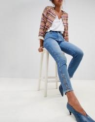 Pepe Jeans Gladis Zip Ankle Skinny Jeans - Blue