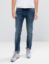 Pepe Jeans Hatch Slim Fit Jean in Mid Wash - Blue