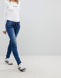 Pepe Jeans Soho Low Waist Skinny Jean - Blue