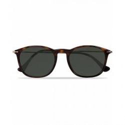 Persol 0PO3124S Round Sunglasses Havana/Green