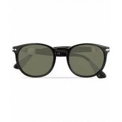 Persol 0PO3157S Round Sunglasses Black