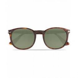 Persol 0PO3157S Round Sunglasses Havana