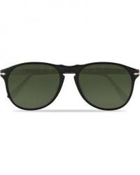 Persol 0PO6649S Polarized Sunglasses Black men One size Sort