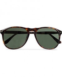 Persol PO9649S Sunglasses Havana/Crystal Green men One size Brun
