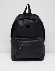 Peter Werth Etched Backpack In Black - Black