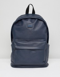 Peter Werth Etched Backpack In Navy - Blue