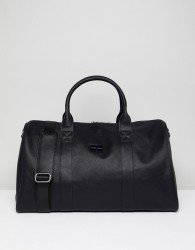 Peter Werth Etched Holdall In Black - Black