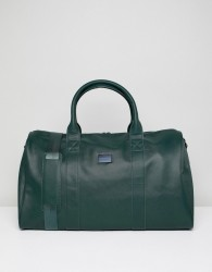 Peter Werth Etched Holdall In Green - Green
