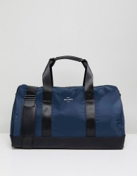 Peter Werth Nason Nylon Holdall - Blue