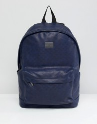 Peter Werth Tully Texture Rucksack - Blue