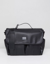 Peter Werth Verdon Vintage Messenger - Black