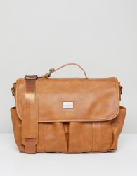 Peter Werth Verdon Vintage Messenger - Tan