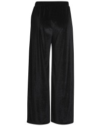 Pieces Agnete glitter wide pants 17086131 (SORT, L)