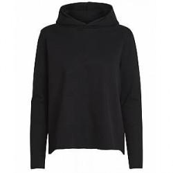 Pieces Annekatrine ls sweat hoodie (SORT, L)