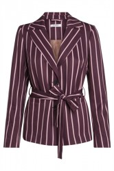 Pieces - Blazer - PC Lizzy Blazer - Winetasting Stripes