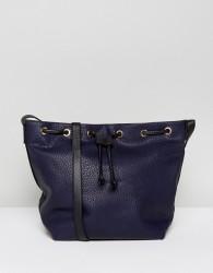 Pieces Bucket Bag - Navy