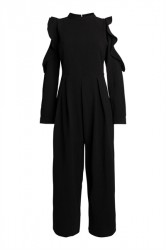 Pieces - Buksedragt - PC Sanya LS Jumpsuit - Black