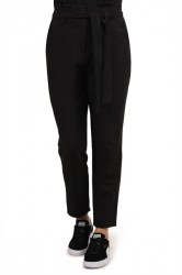 Pieces - Bukser - PC Freya HW Pants - Black