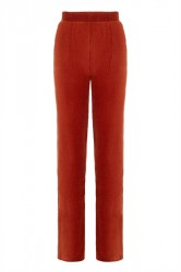 Pieces - Bukser - PC Holly MW Wide Pant - Picante