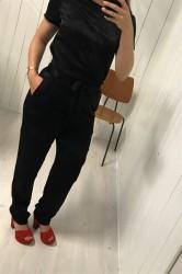 Pieces - Bukser - PC Lene HW Pants - Black