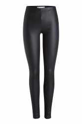 Pieces - Bukser - PC Skin Paro HW Leggings Coated - Black