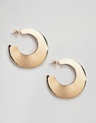 Pieces Chunky Hoop Earrings - Gold