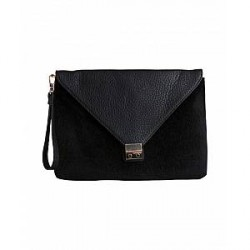 Pieces Crihanna Clutch (SORT, ONESIZE)