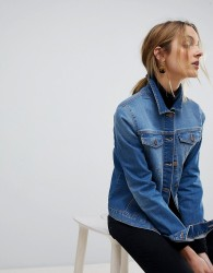 Pieces Denim Jacket - Blue