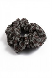 Pieces - Hårelastik - PC Pieces Scrunchie - Silver Colour