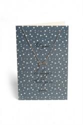 Pieces - Halskæde - PC Lala Necklace Gift Card Box - Silver Colour - Let Your Faith