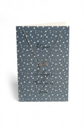 Pieces - Halskæde - PC Lala Necklace Gift Card Box - Silver Colour - Let Your Faith