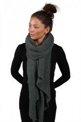 Pieces - Halstørklæde - PC Pyron Long Scarf - Balsam Green - Onesize